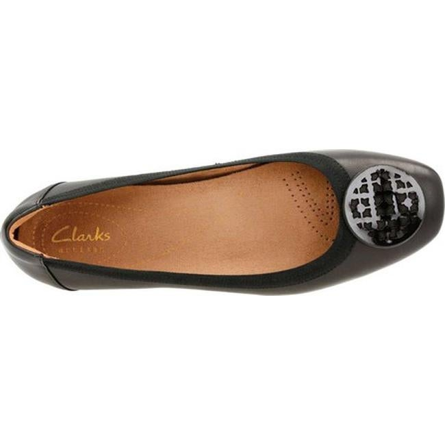 a962ee53b007 Shop Clarks Women s Candra Blush Ballet Flat Black Sheep Full Grain Leather  - Free Shipping Today - Overstock - 12278674