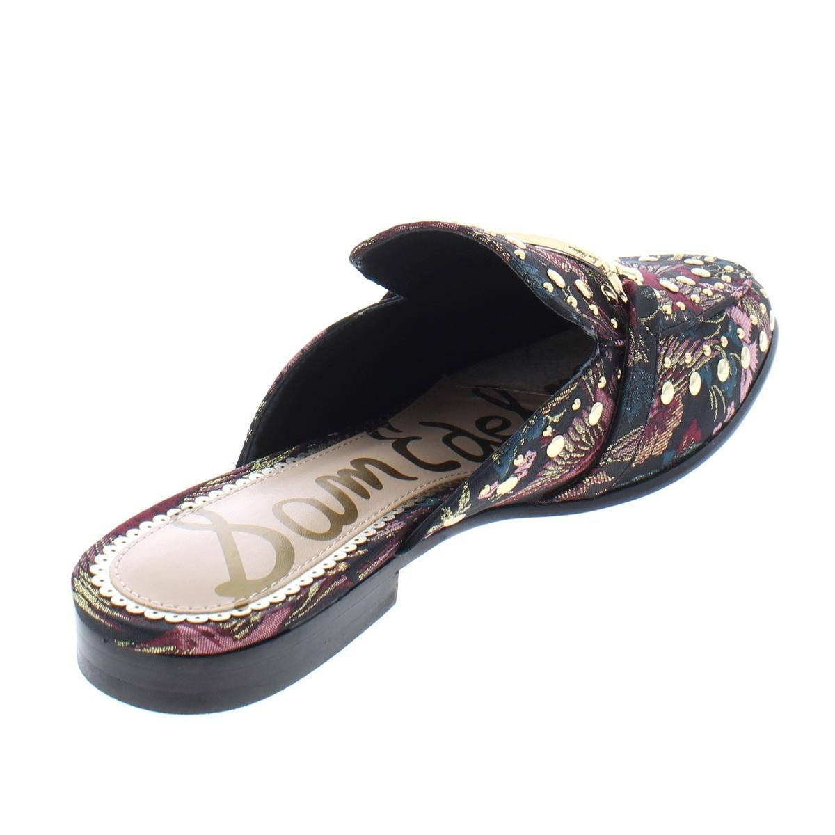 c259d5b673d4f8 Shop Sam Edelman Womens Marilyn Mules Jacquard Studded - Free Shipping  Today - Overstock - 24030867