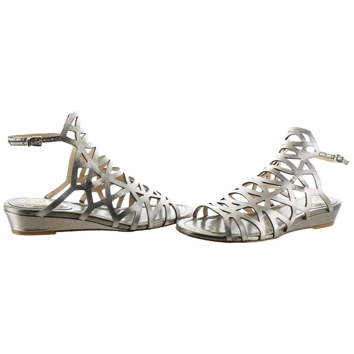 500dd3941 Shop Vince Camuto Womens Illana Wedge Sandals Strappy Slingback - Free  Shipping On Orders Over  45 - Overstock - 20996944
