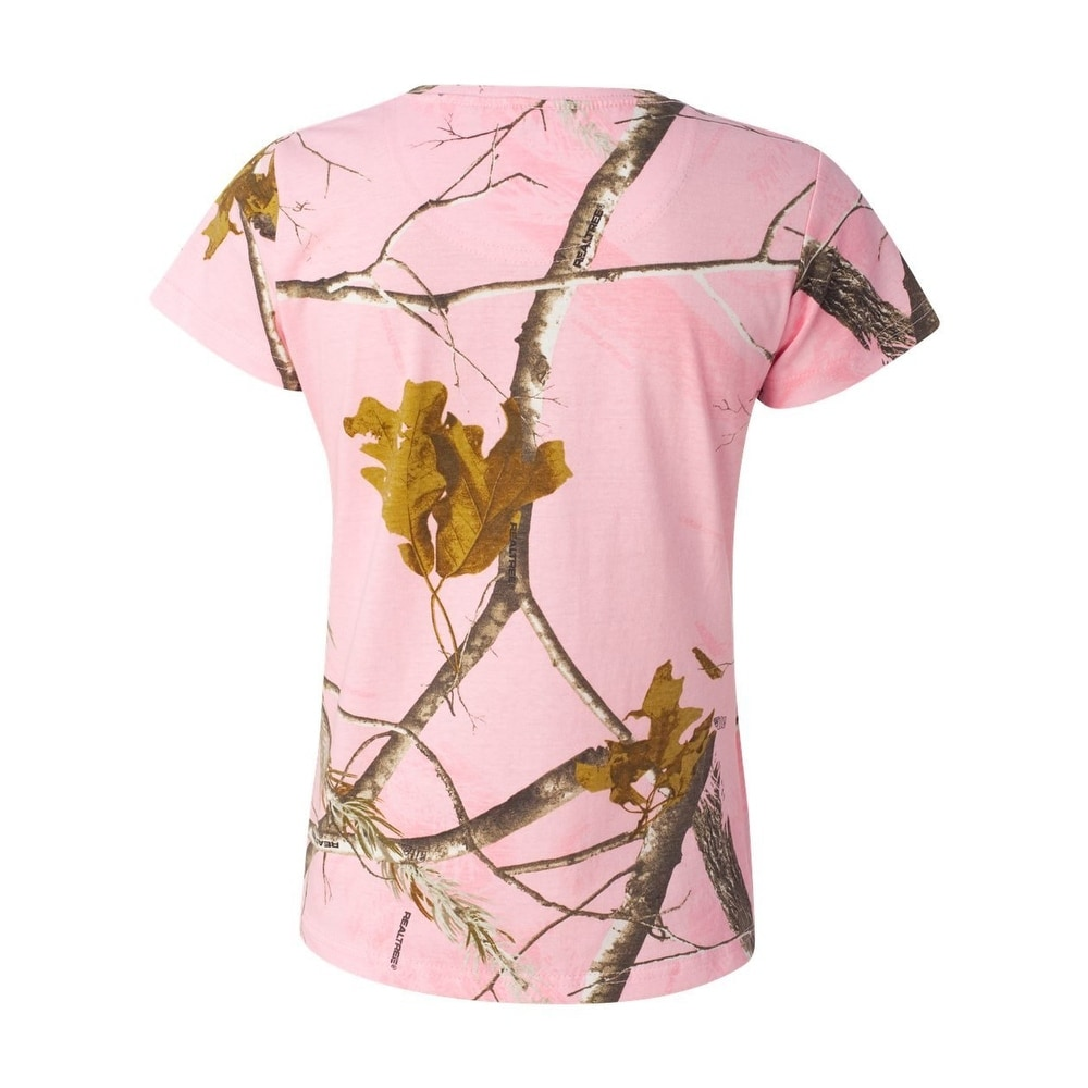 5bc577f4 Shop Ladies' Realtree Camouflage T-Shirt - Free Shipping On Orders Over $45  - Overstock - 22044676