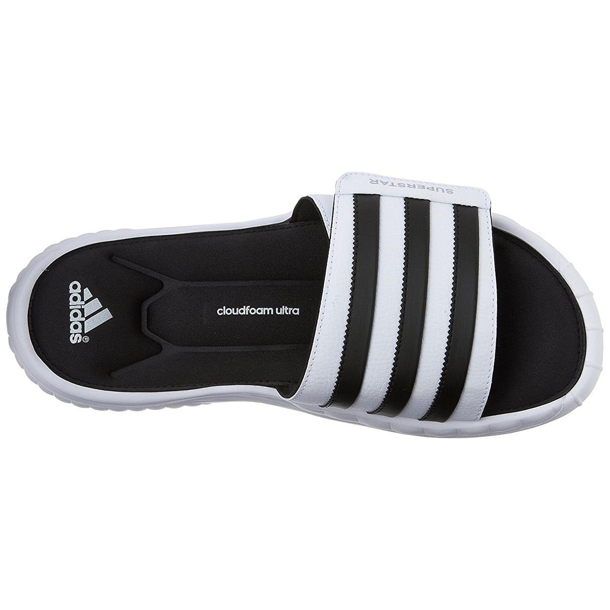 Negozio adidas superstar 3g cloudfoam atletico slide sandali bianchi