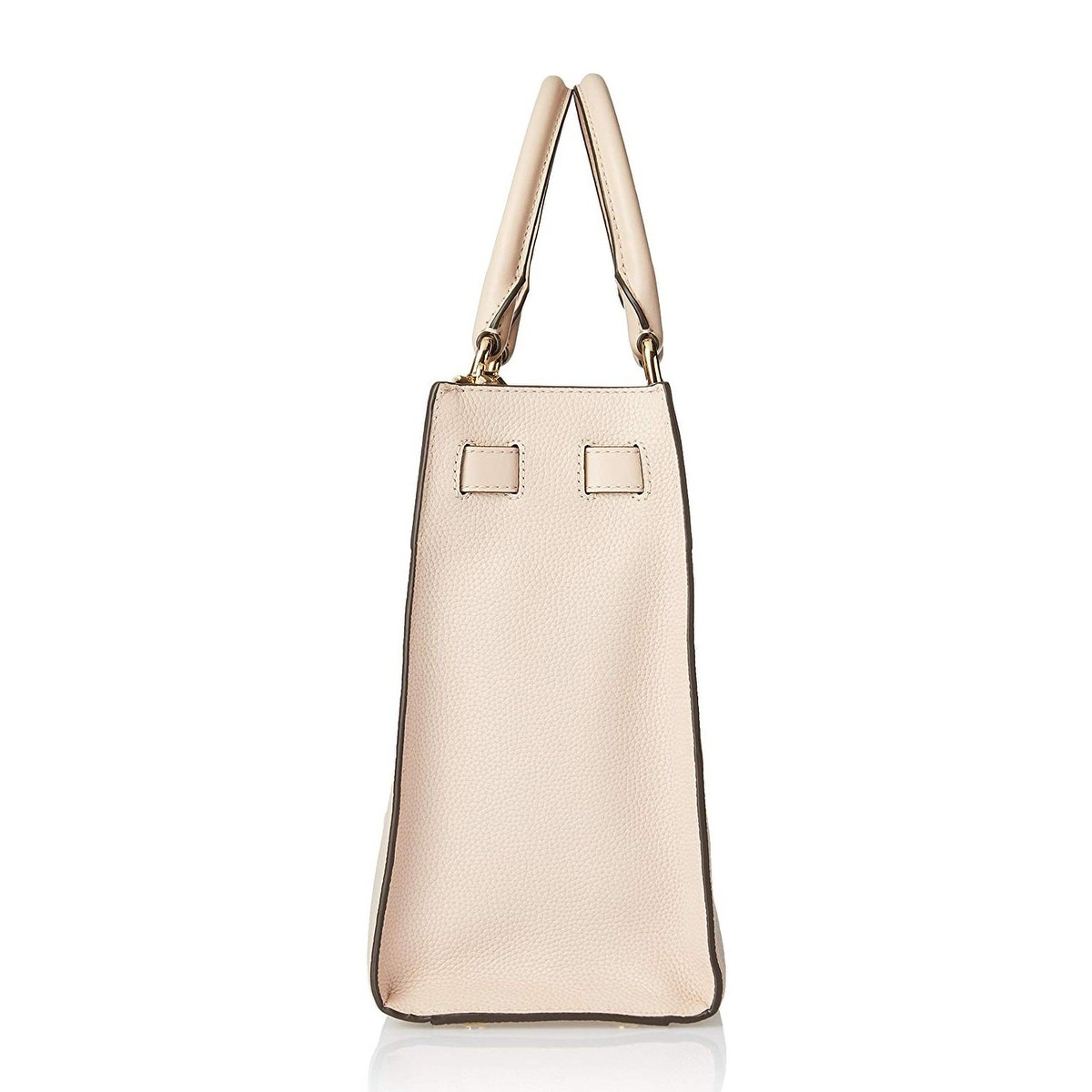 b380b497b22e Shop MICHAEL Michael Kors Reagan Large Leather Satchel Soft Pink Gold -  Free Shipping Today - Overstock - 27296234