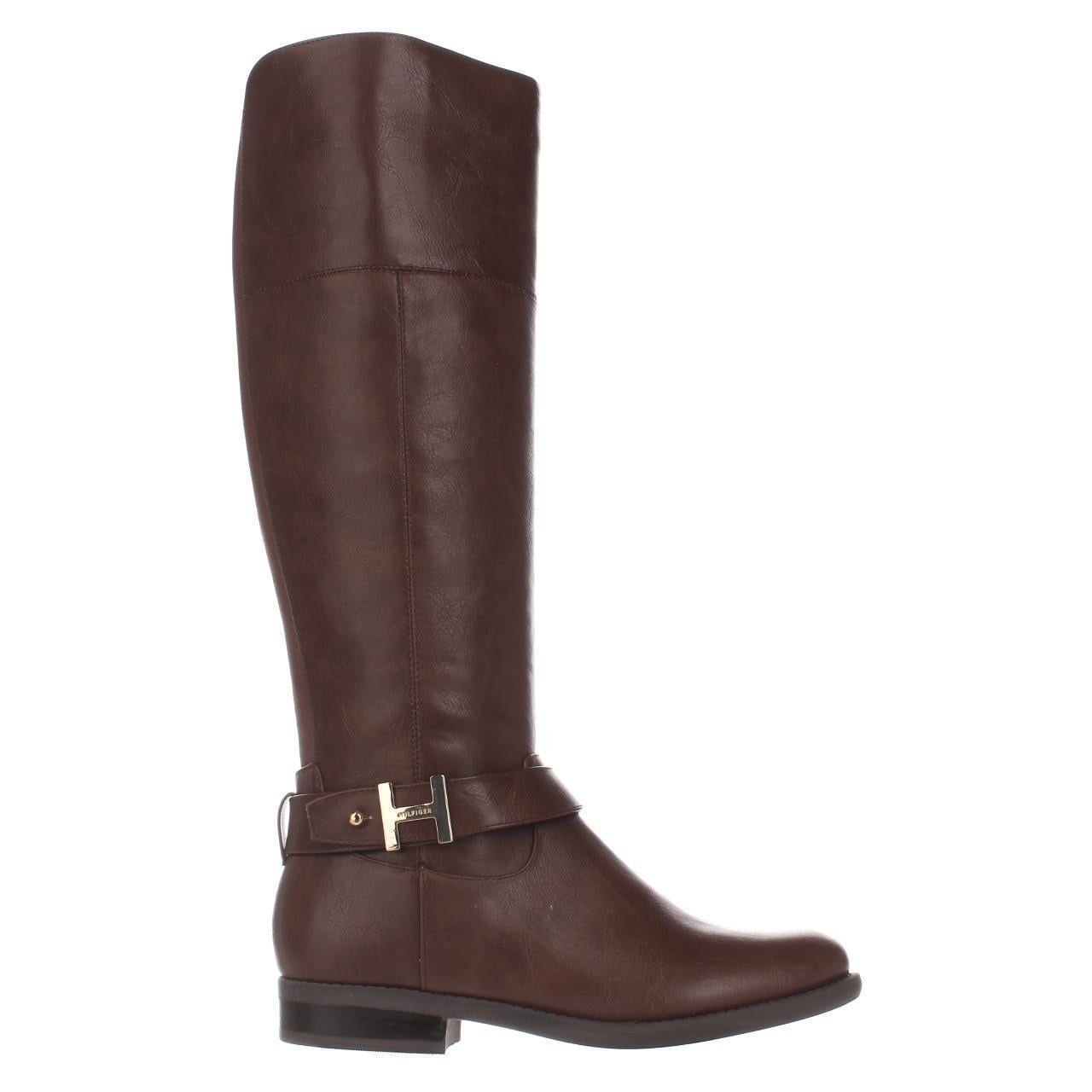 30e772e22 Shop Tommy Hilfiger Shahar Knee High Boots
