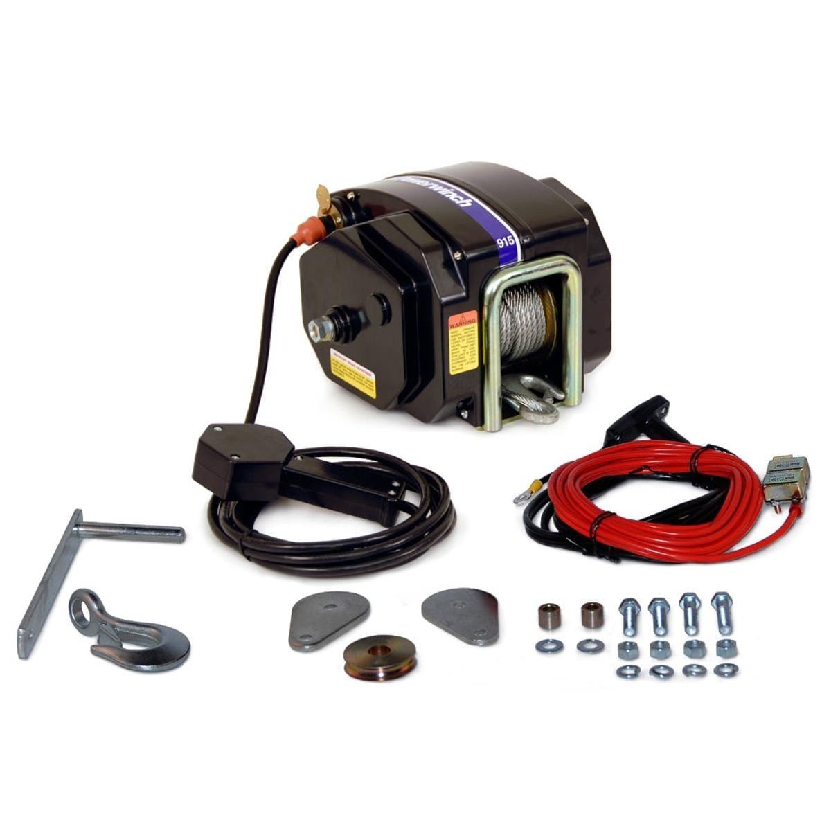 Shop Powerwinch 915 Trailer Winch P77915 9500 Lb Max Weght Wiring Diagram Ac Free Shipping Today 18091706