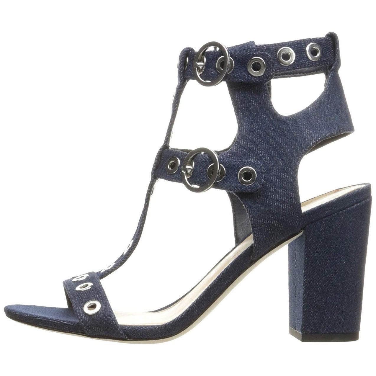 8dc6b13732656 Shop Sam Edelman Women s Eyda Dress Sandal - navy chambray - 9 - Free  Shipping Today - Overstock.com - 25635026
