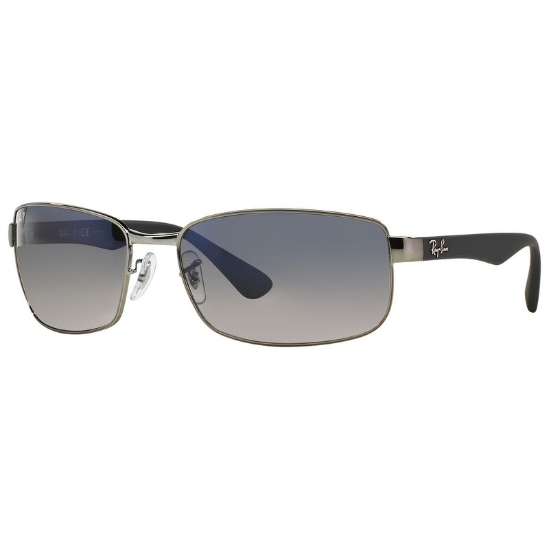 e3d90863097 ... canada shop ray ban rb3478 polarized rectangle sunglasses gunmetal gray  blue gradient gray free shipping today discount code ...