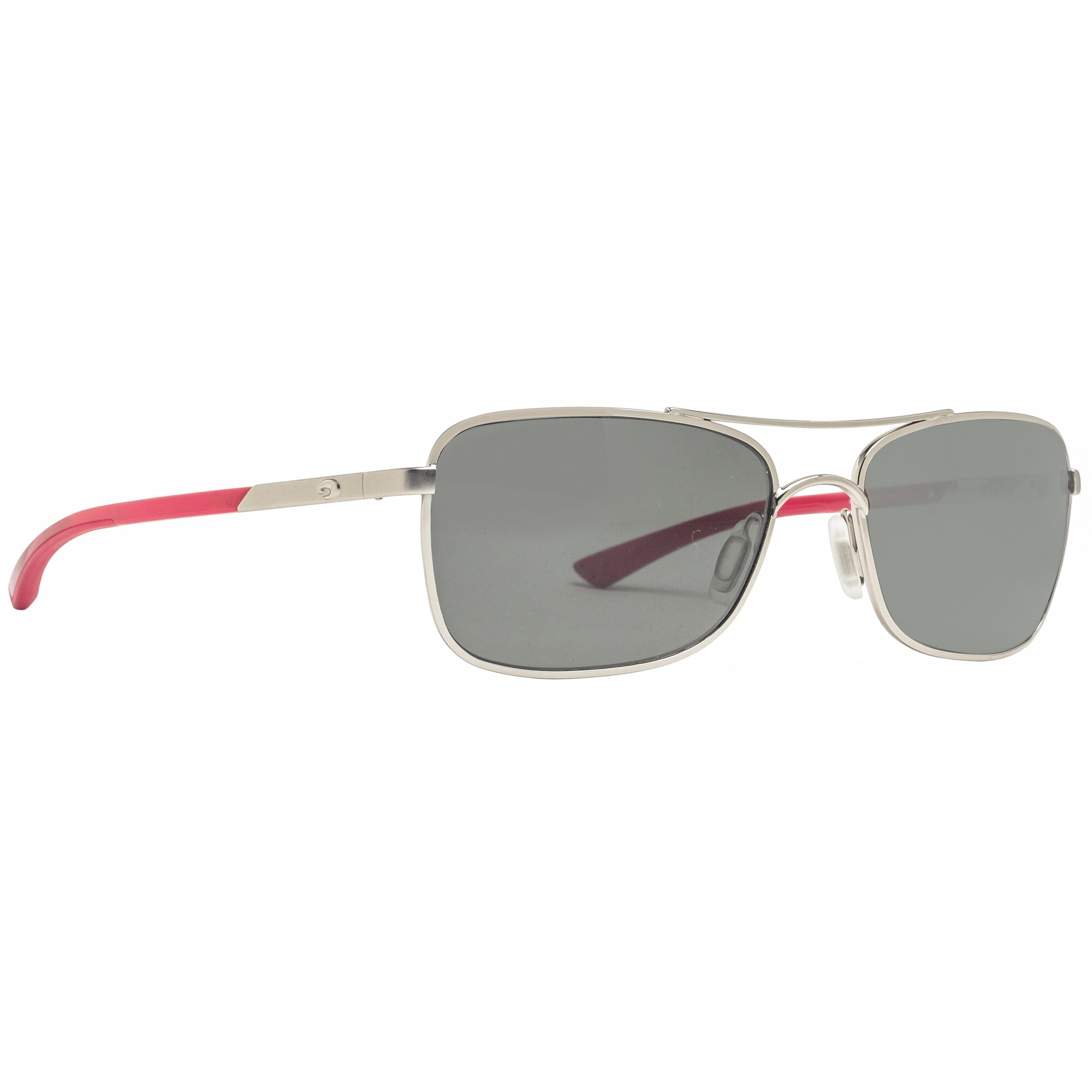 1059ae264d8 Shop Costa Del Mar Palapa AP83 OGGLP Palladium Red Gray Polarized 580G  Sunglasses - 57mm-18mm-130mm - Free Shipping Today - Overstock - 21154037