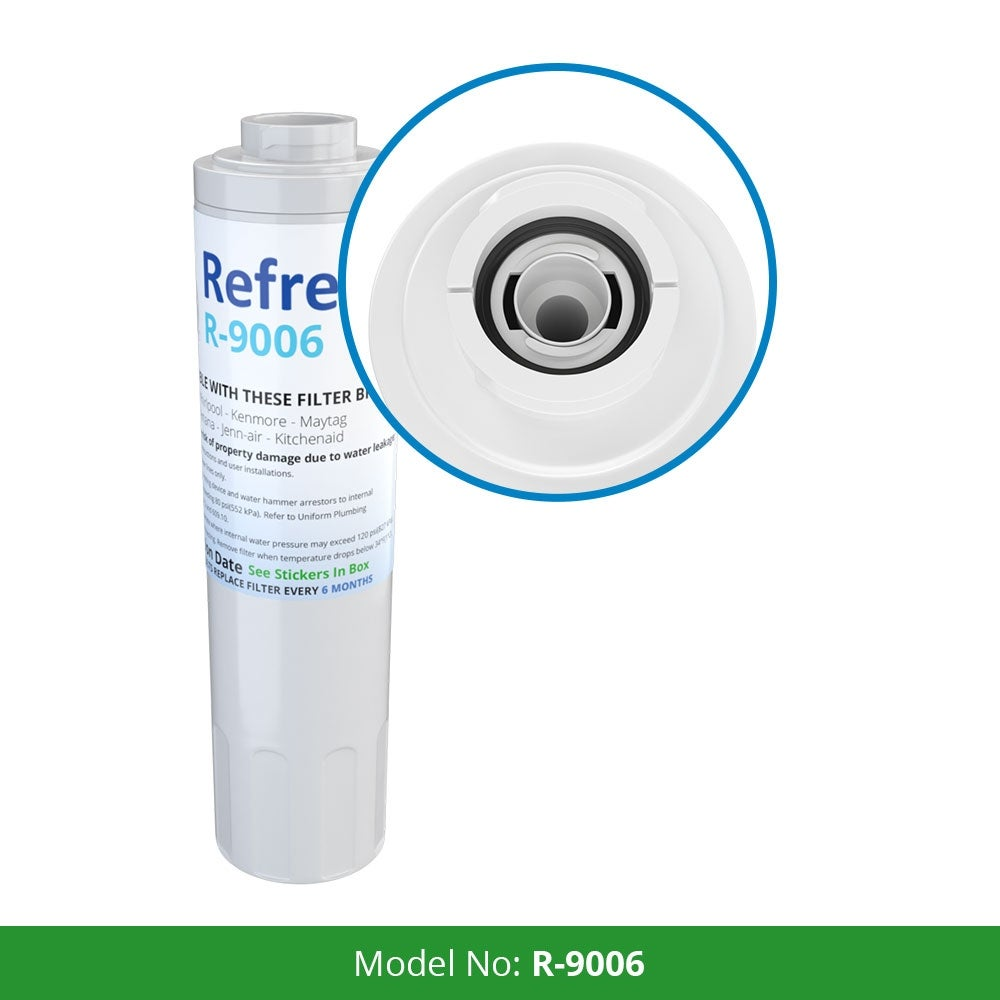 Replacement Water Filter For Jenn-Air JFC2089WEM Refrigerator Water Filter  - by Refresh (3 Pack)