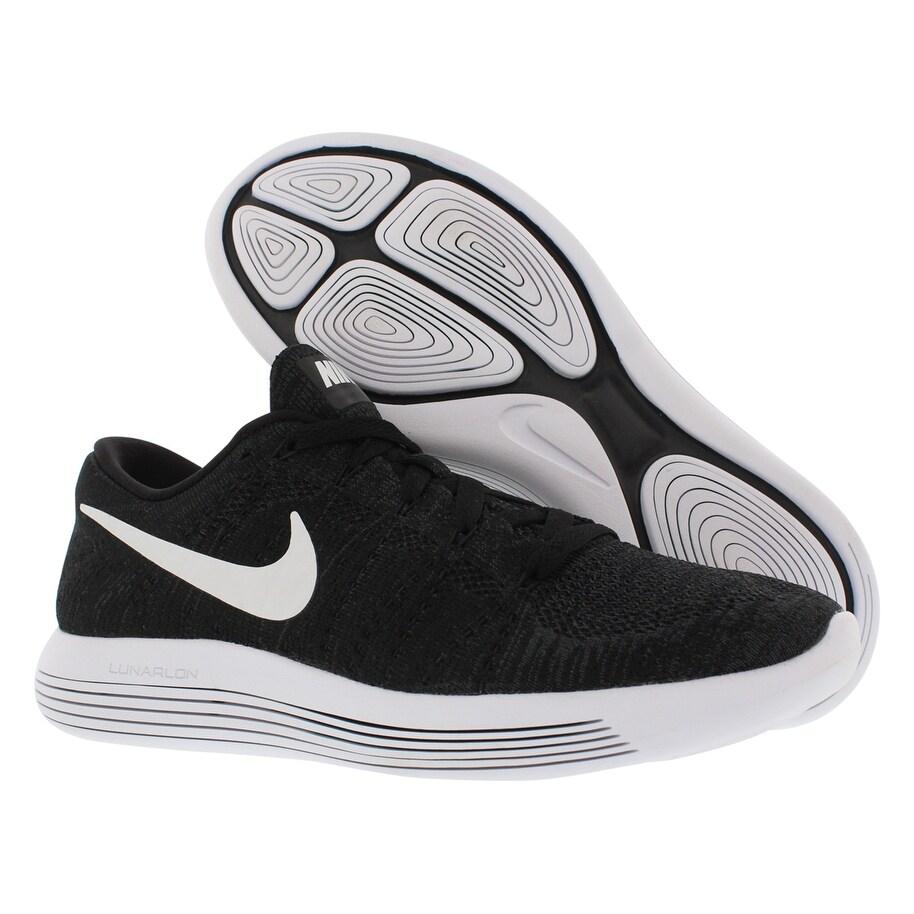 97359e6590e3b Shop Nike Lumarepic Low Flyknit Running Men s Shoes - Free Shipping Today -  Overstock - 22401288