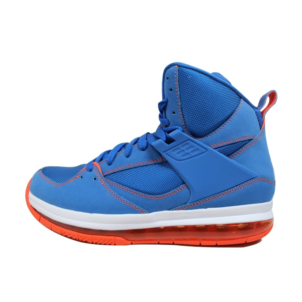 premium selection 3ffda 61e80 Nike Men s Air Jordan Flight 45 High Max Game Royal White-Team Orange  Carmelo Anthony Knicks 524866-401