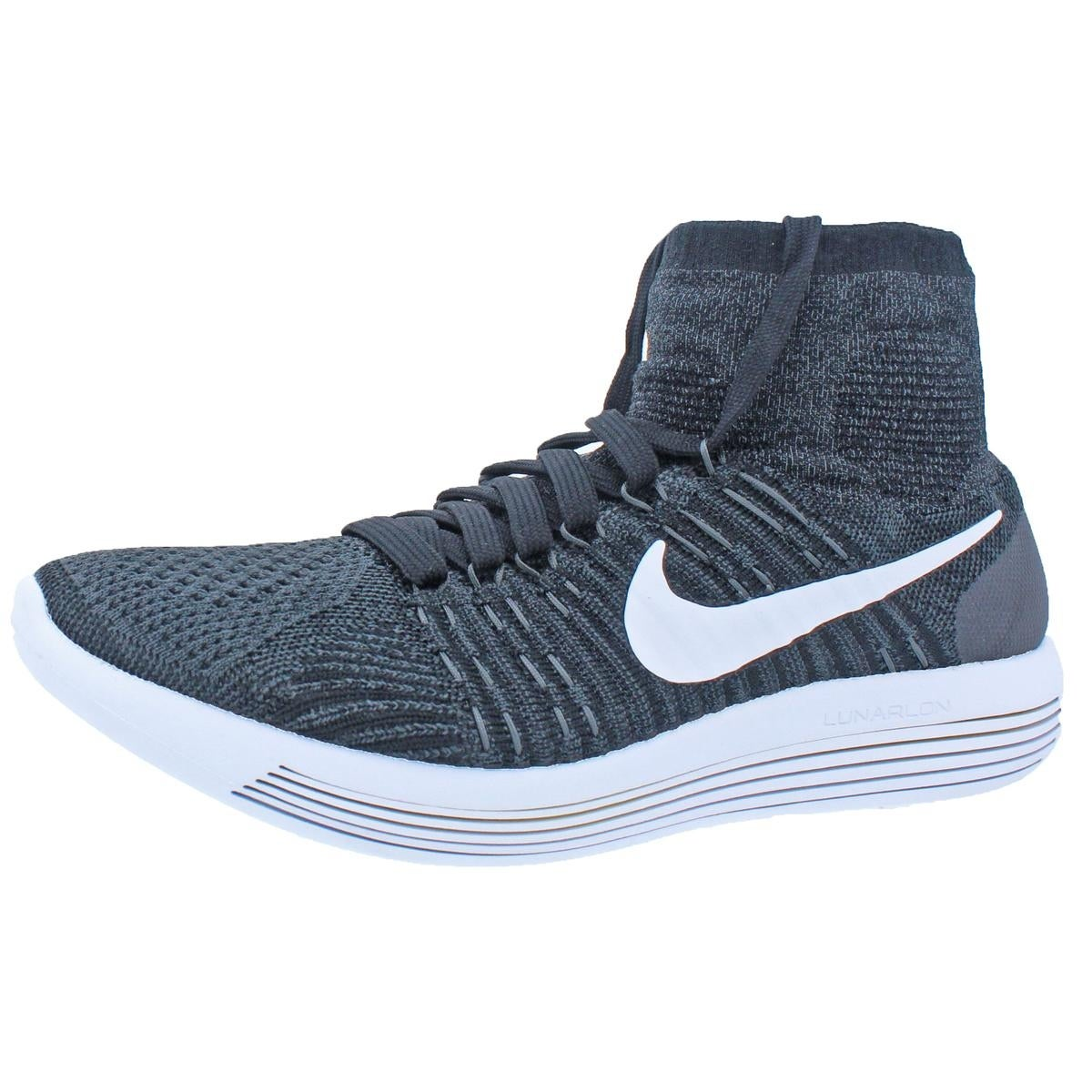 896f3f4d42265 Nike Womens Lunarepic Flyknit Running Shoes Lunarlon Sock Fit - 9 medium  (b