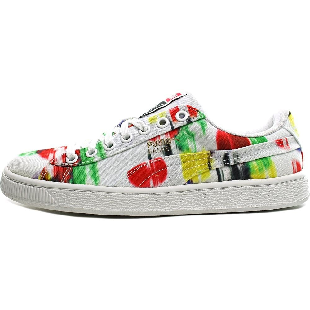 uk availability b7899 c18c0 Shop Puma Basket Classic CVS Blur Women Round Toe Canvas Multi Color  Sneakers - Free Shipping On Orders Over $45 - Overstock - 14662273