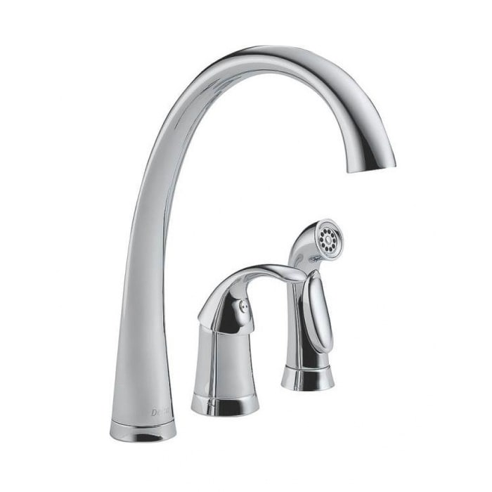 Delta Faucet 4380 Dst Single Levatory Kitchen Faucets Free Shipping Today 24319962