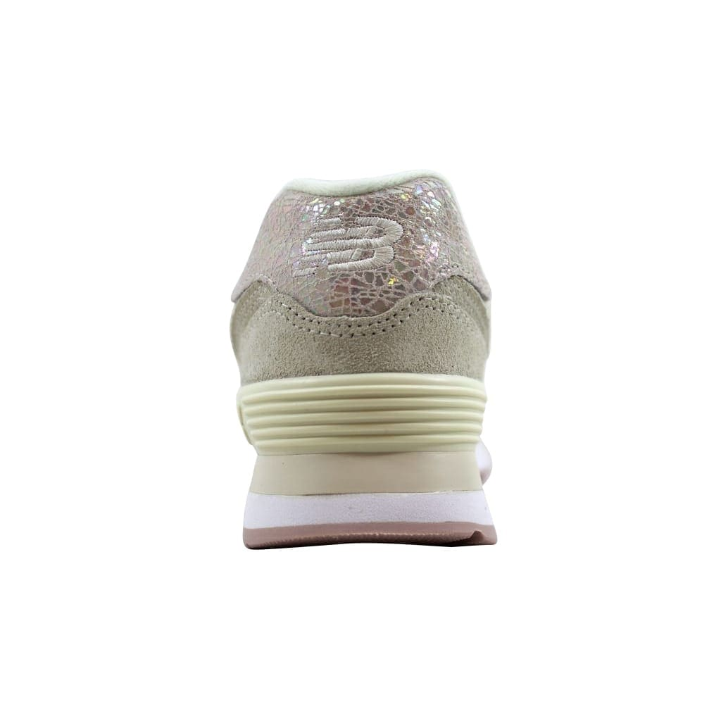 size 40 b3f92 da92a Shop New Balance Women s 574 Angora Faded Rose-Shattered Pearl WL574CIB -  Free Shipping Today - Overstock - 22531512