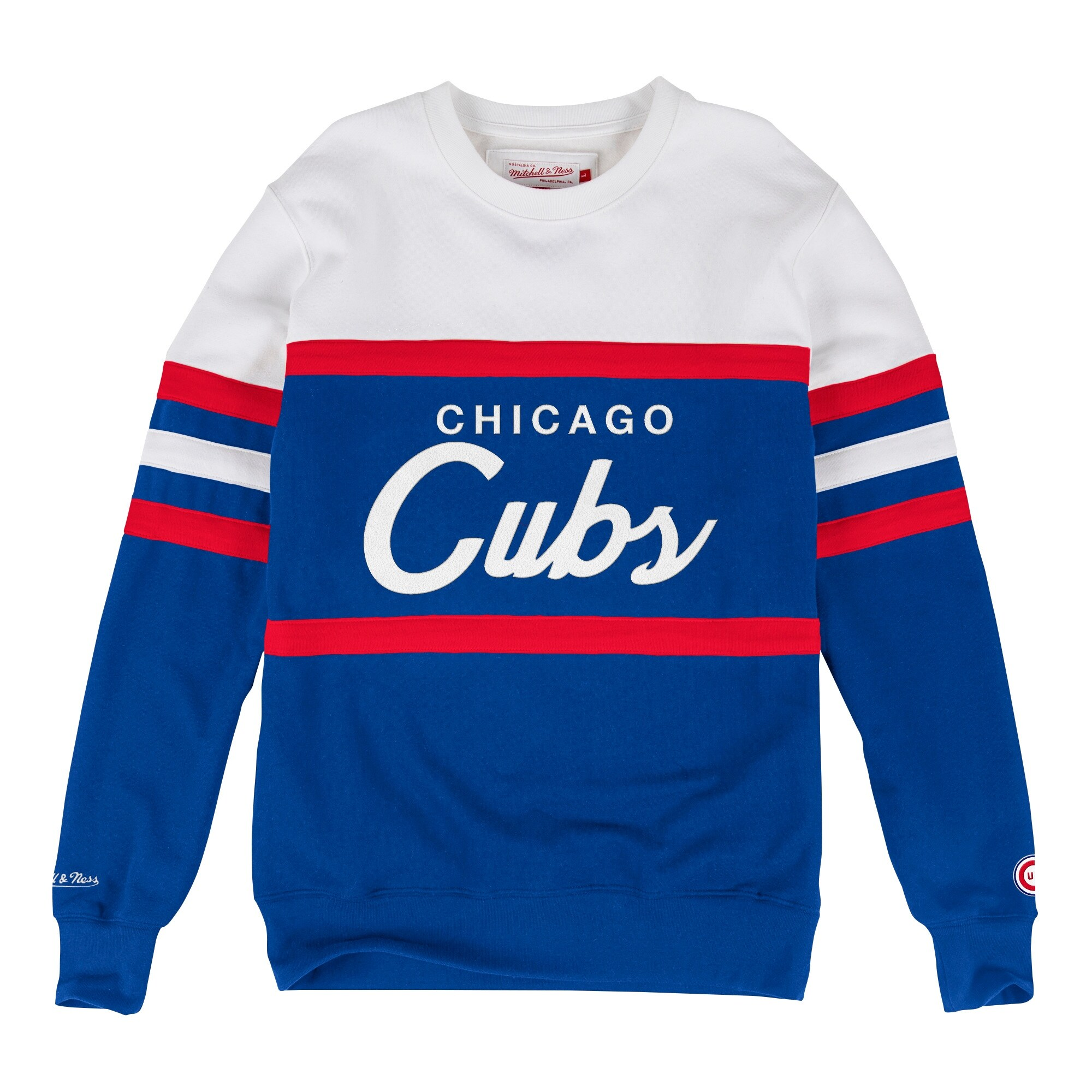 76f38552 Shop Chicago Cubs Head Coach Crew Sweatshirt - Free Shipping Today -  Overstock - 18681977