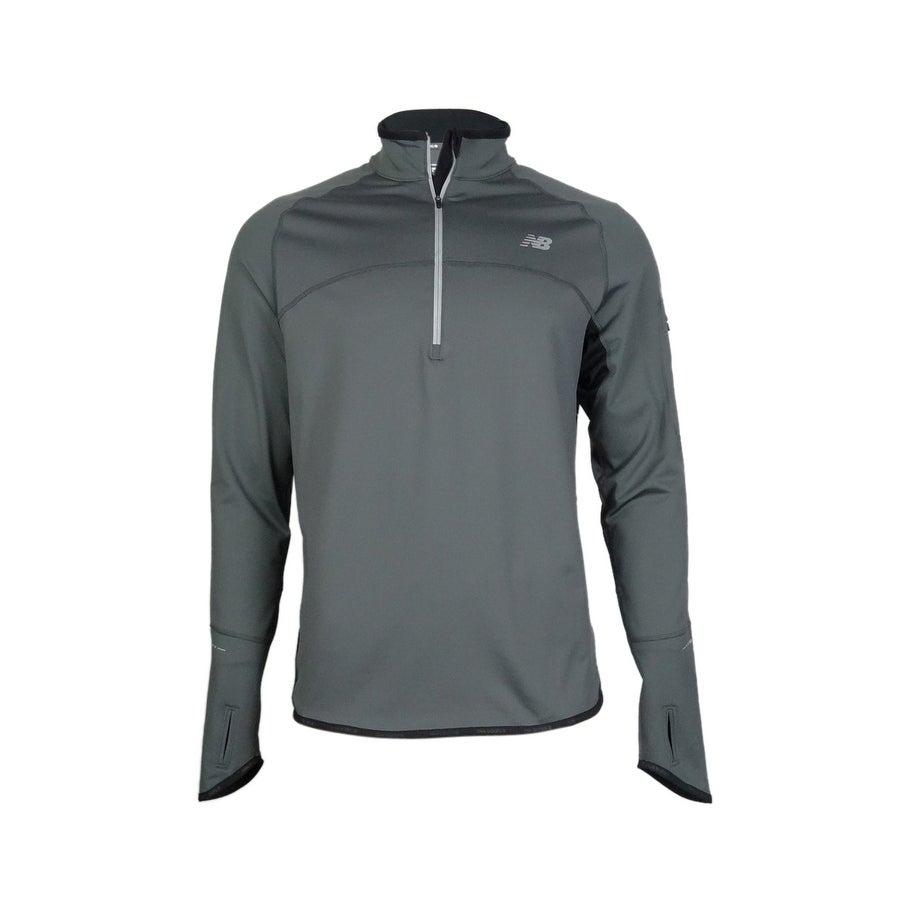 d92a6a50f3b5a Shop New Balance Men's Big & Tall HEAT Quarter-Zip Running Pullover - 2XL -  On Sale - Free Shipping On Orders Over $45 - Overstock.com - 15016171