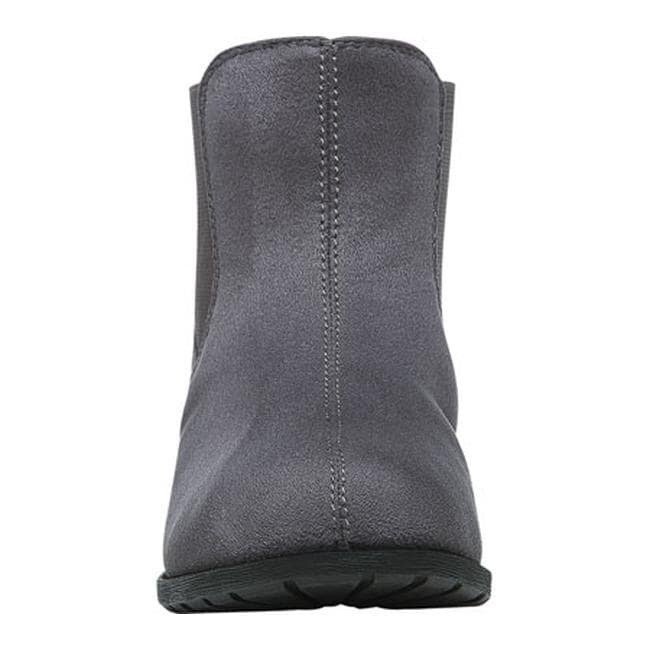 cddc0ed0a372 Shop Propet Women s Scout Chelsea Boot Grey Velour - Free Shipping On  Orders Over  45 - Overstock.com - 12605444