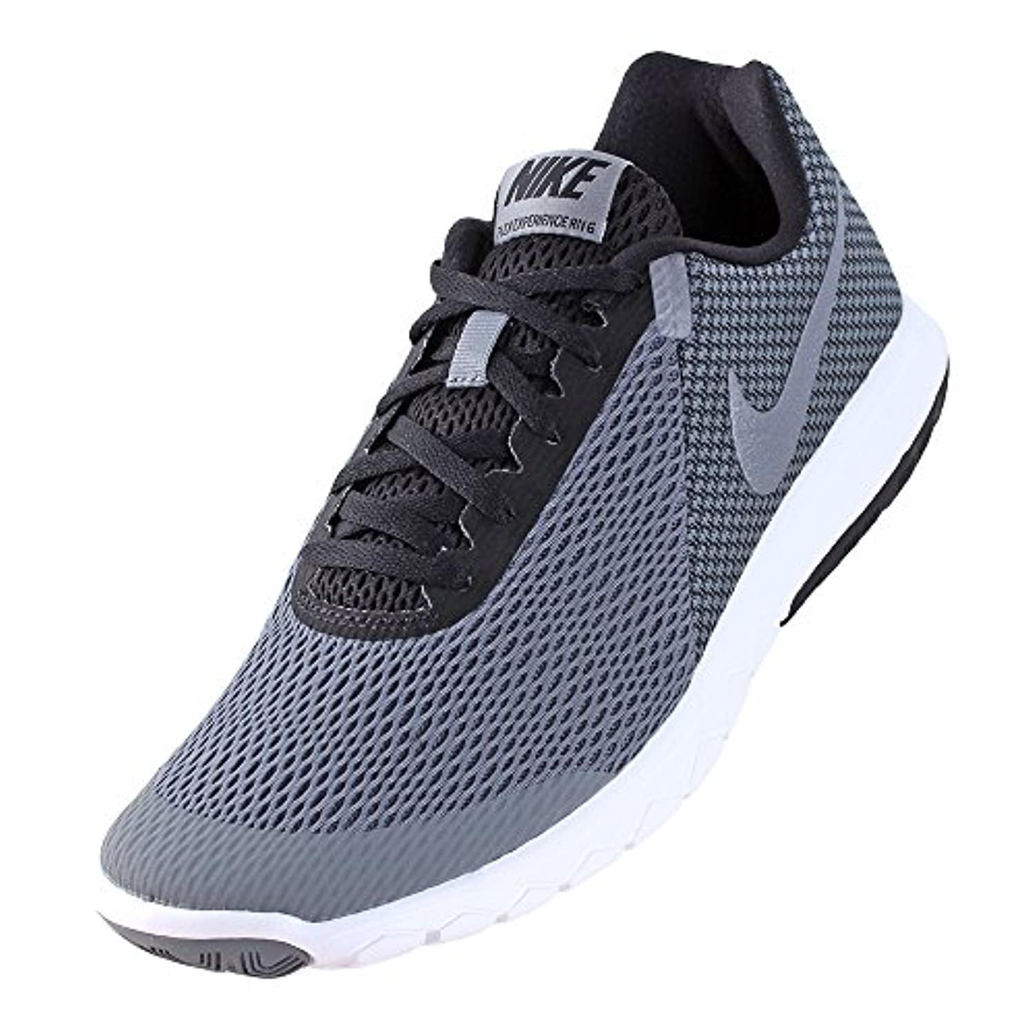5f35a4d6542d Shop Nike Flex Experience Rn 6 Mens Style  881802-001 Size  10.5 M US -  black black-dark grey - Free Shipping Today - Overstock - 18275435