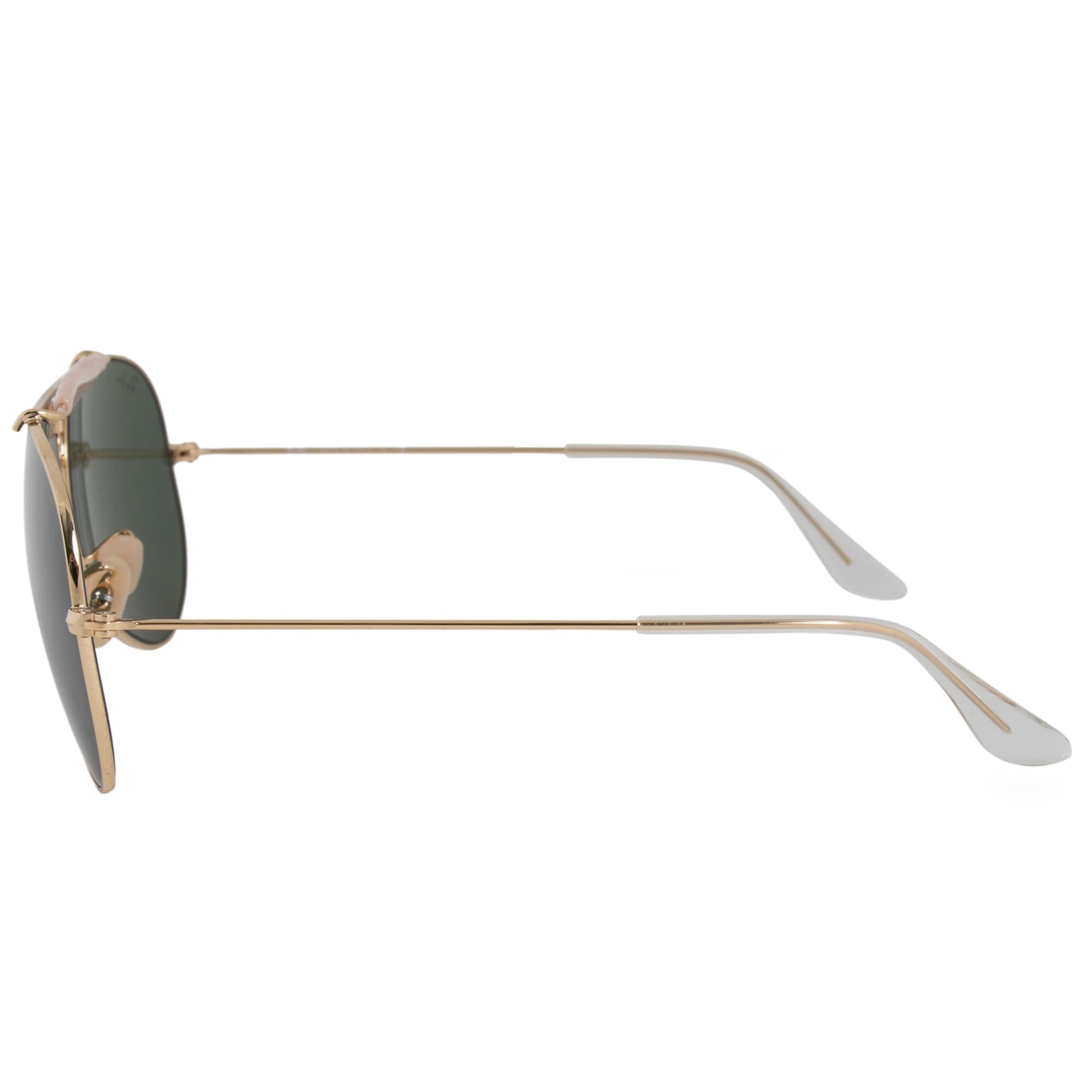 acb1d2cc35b27c Shop Ray-Ban Aviator Shooter Sunglasses RB3138 001 58