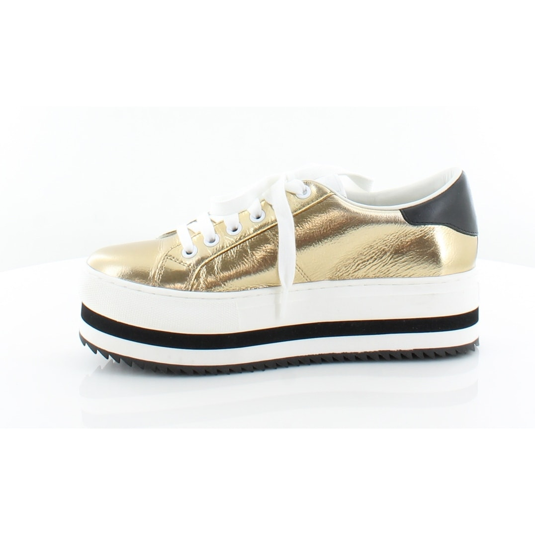 96fd411650dd Shop Marc By Marc Jacobs Grand Platform Women s Fashion Sneakers Gold -  Free Shipping Today - Overstock - 26949149