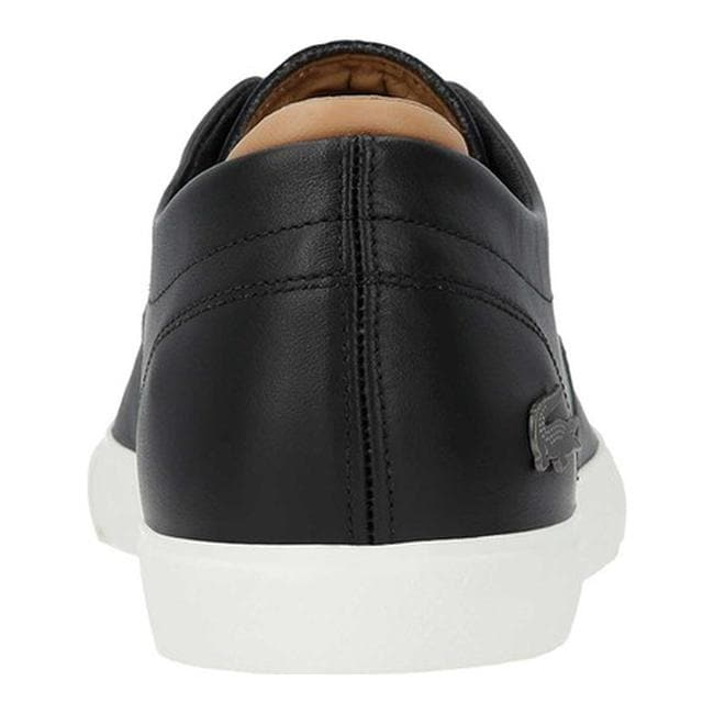 035d3f8d0 Shop Lacoste Men s Espere Leather Sneaker Black Off White Leather - Free  Shipping Today - Overstock - 22864268