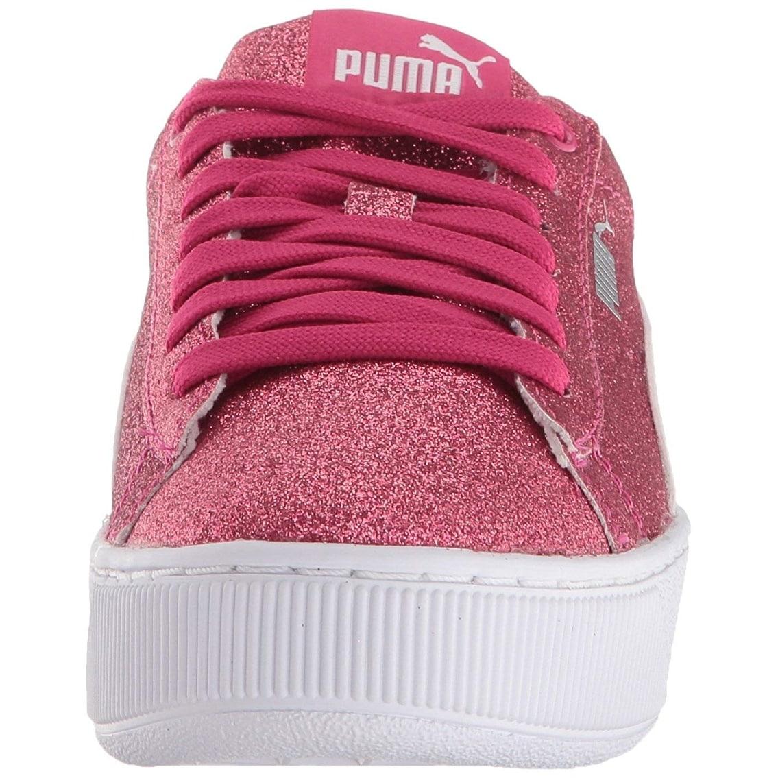 Shop PUMA Kids Vikky Platform Glitz Jr Sneaker - On Sale - Ships To Canada  - Overstock.ca - 26262916 de61ffd01
