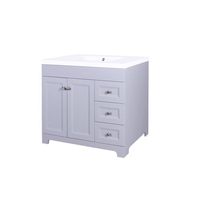 Shop Jano Shaker Single Bathroom Vanity Set Free Shipping Today