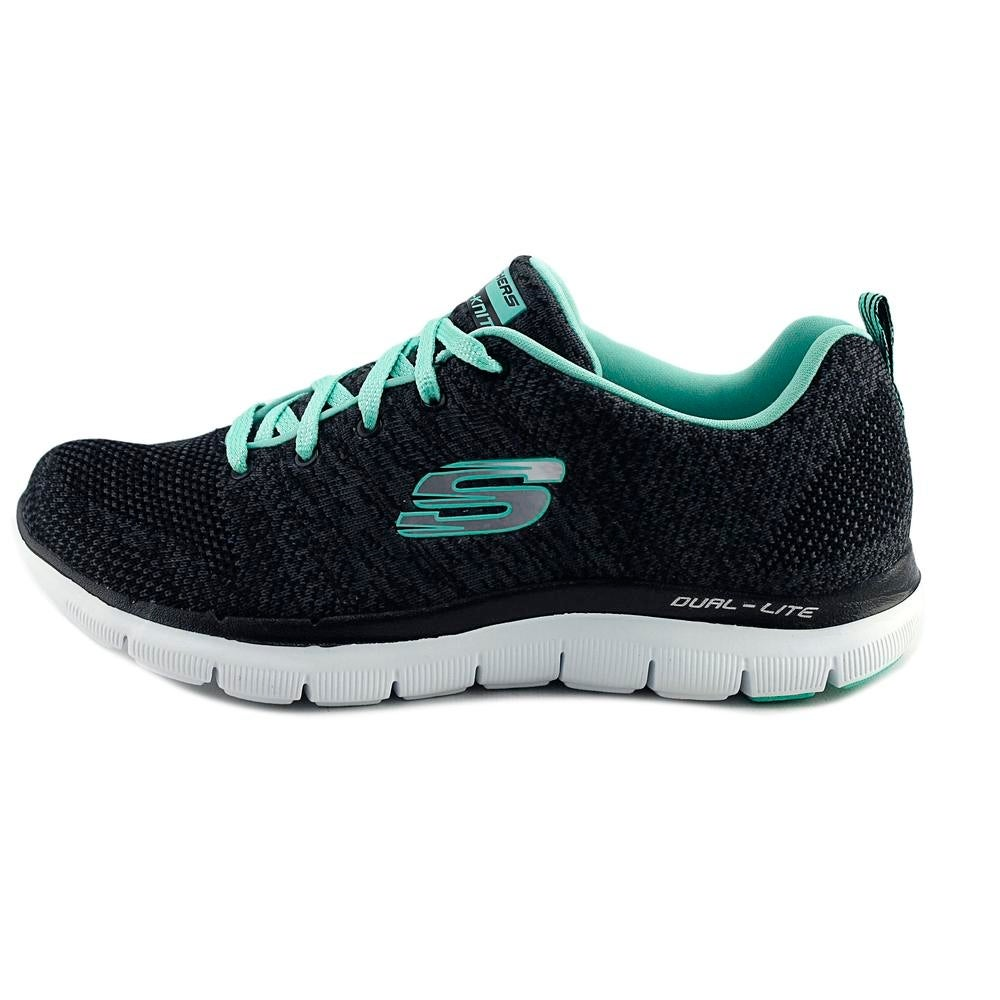71e711a9bb59 Shop Skechers Flex Appeal 2.0 High Energy Women Round Toe Synthetic Black  Sneakers - Free Shipping On Orders Over  45 - Overstock.com - 18597109
