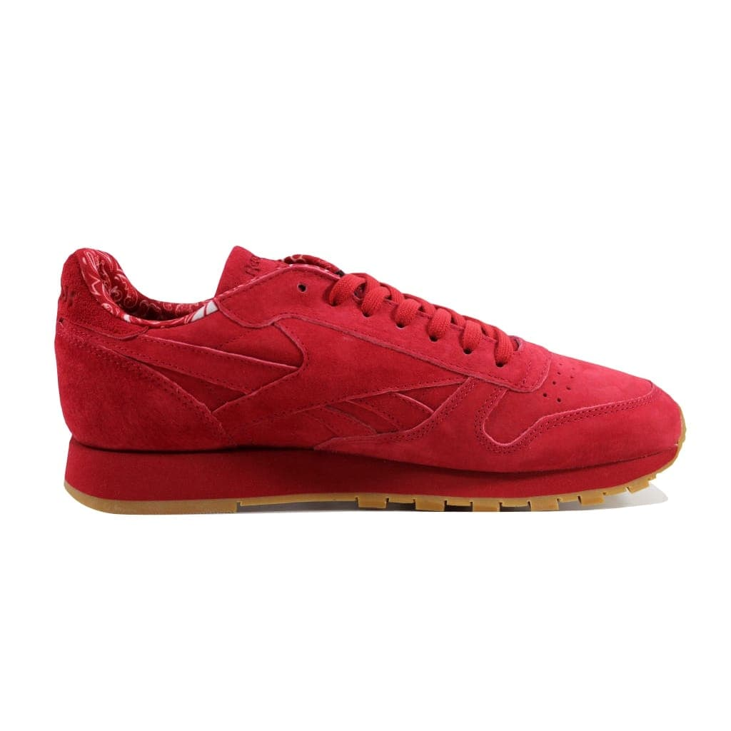 ddee74f574f3 Shop Reebok Men s Classic Leather TDC Scarlet White-Gum BD3231 - Free  Shipping Today - Overstock - 23436890