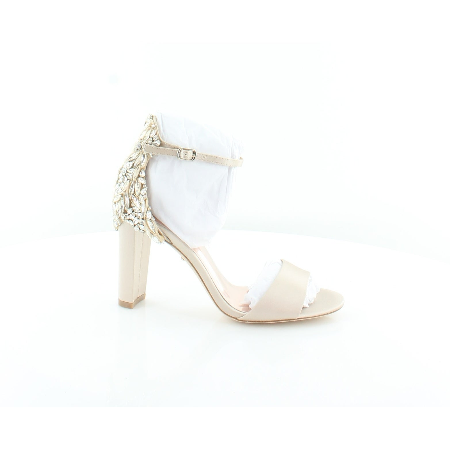 16186b3f743 Shop Badgley Mischka Seina Women s Sandals Nude - Ships To Canada -  Overstock - 25637171