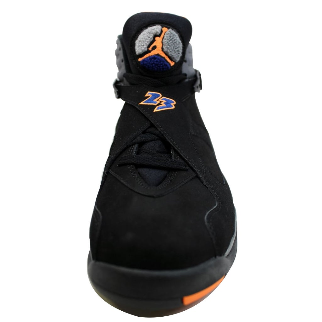 competitive price 804e7 891d1 Shop Nike Men s Air Jordan VIII 8 Retro Black Bright Citrus-Cool Grey-Deep  Royal Blue Phoenix Suns 305381-043 - Free Shipping Today - Overstock -  19507294