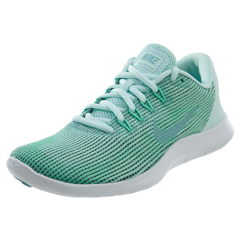 Nike Women's Flex Rn 2018 Running Shoe, 8.5, Green