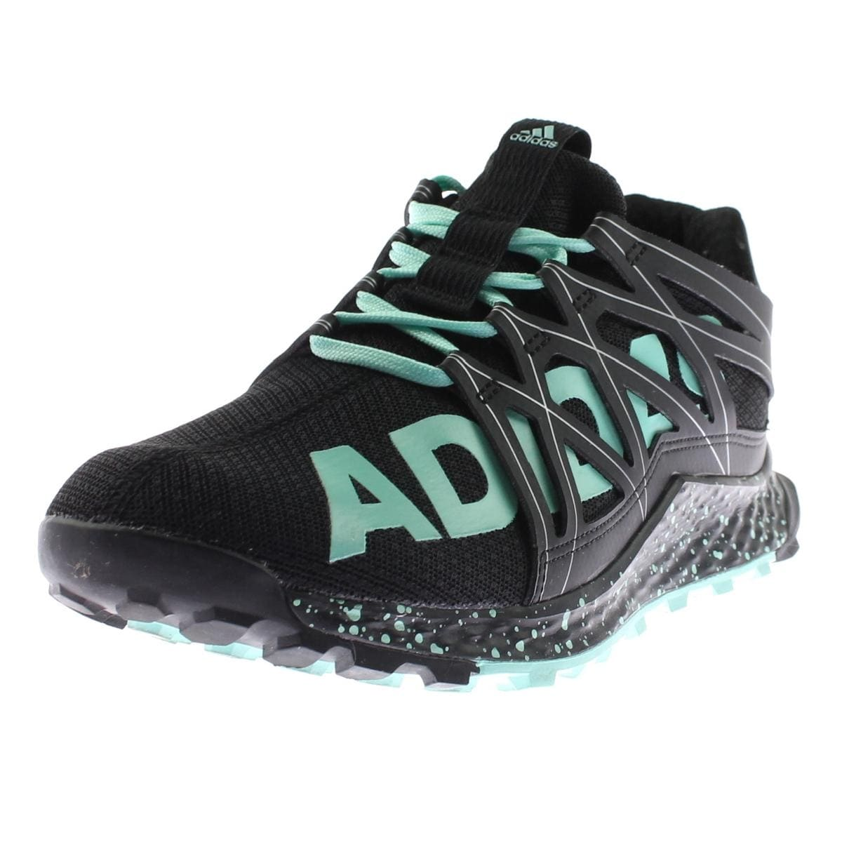 342cd2184cf0c Shop Adidas Womens Vigor Bounce Trail Running Shoes Speckled ...