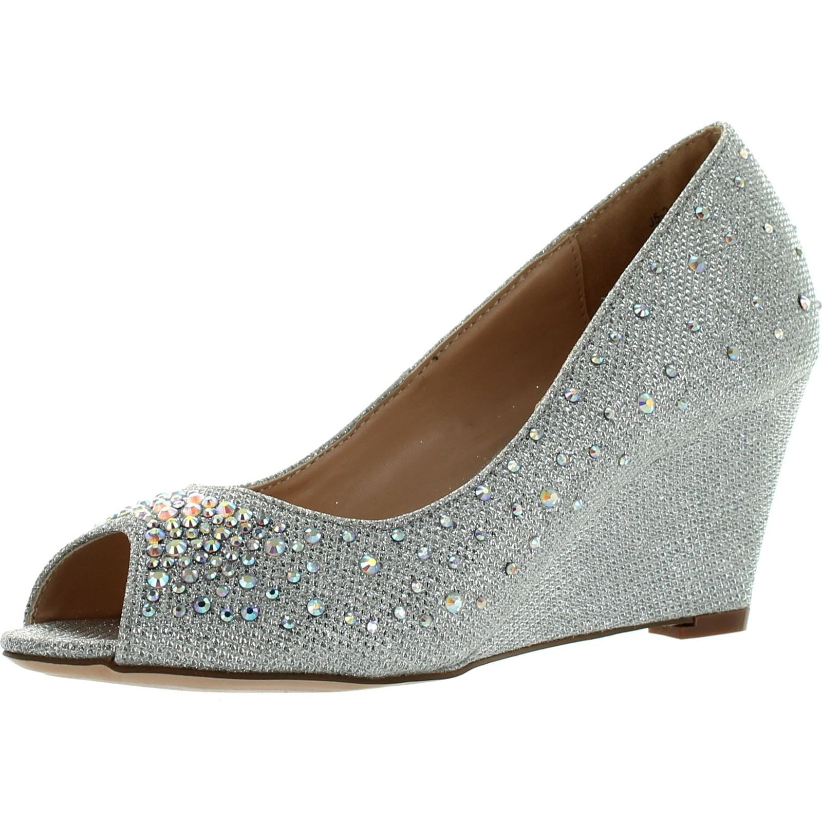 9c17415b4a335 Blossom Womens Half-3 Dressy Wedge Shoes