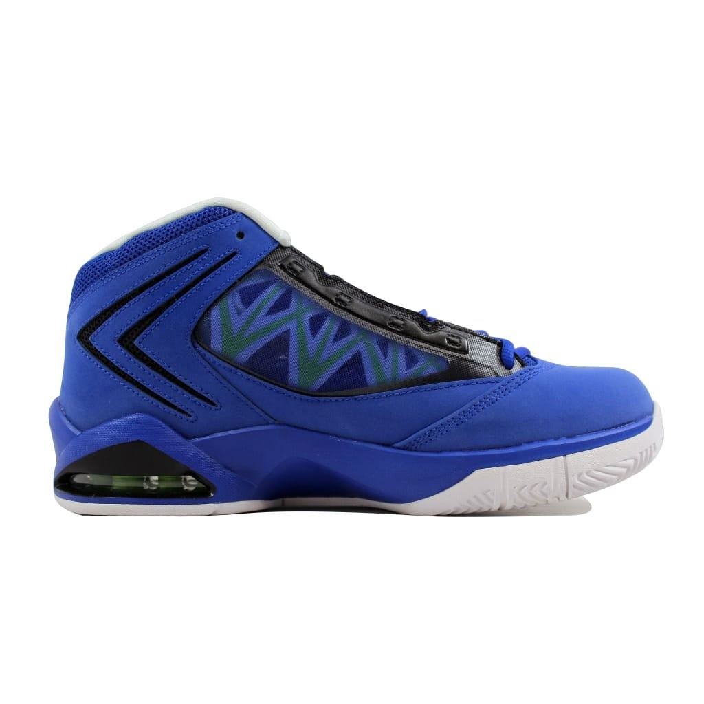 cheap for discount c0647 3090b Shop Nike Men s Air Jordan Flight The Power Old Royal White-Black-Action  Green 487207-414 - Free Shipping Today - Overstock - 21893222