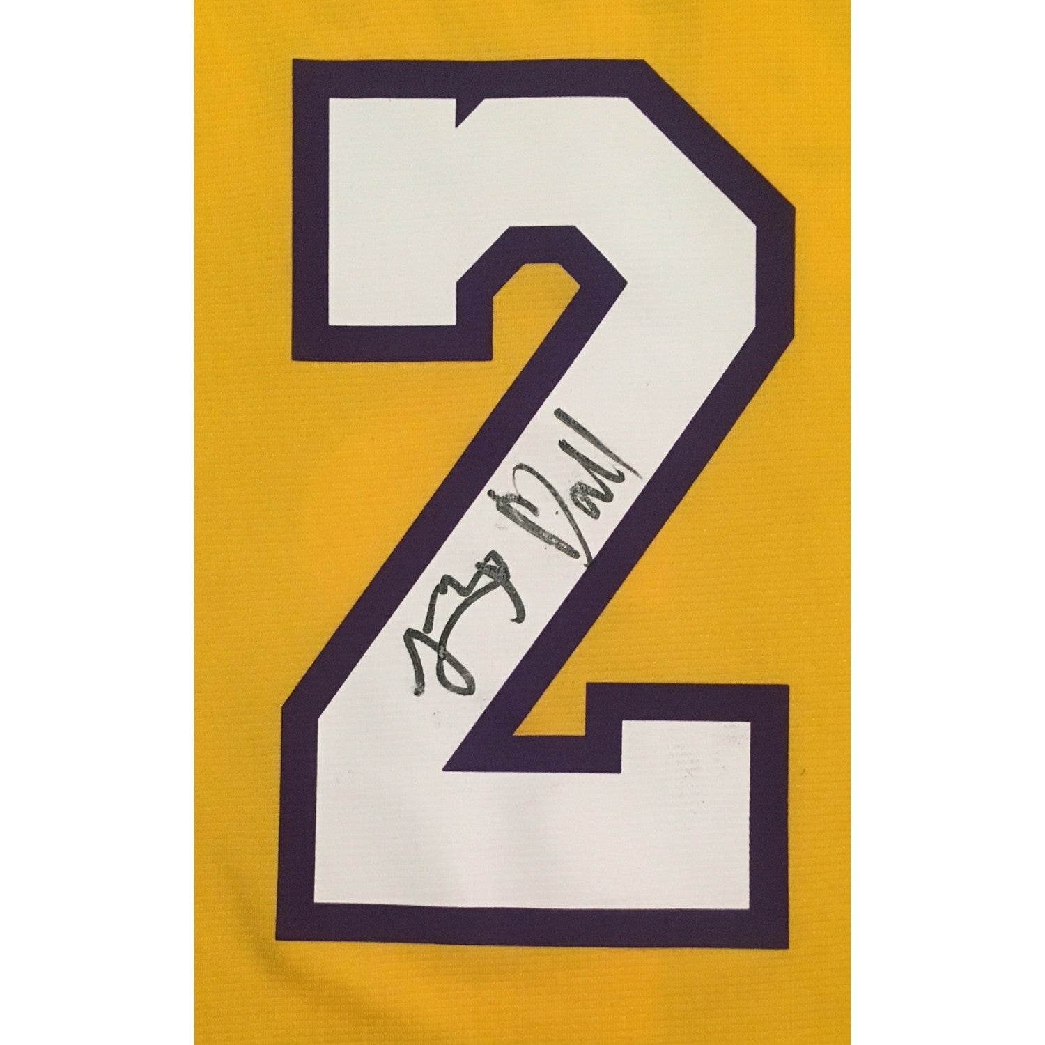 d0c0b9a12 Shop Lonzo Ball Autographed Los Angeles Lakers Signed Basketball Jersey  Beckett BAS COA 2 - Free Shipping Today - Overstock - 20534823