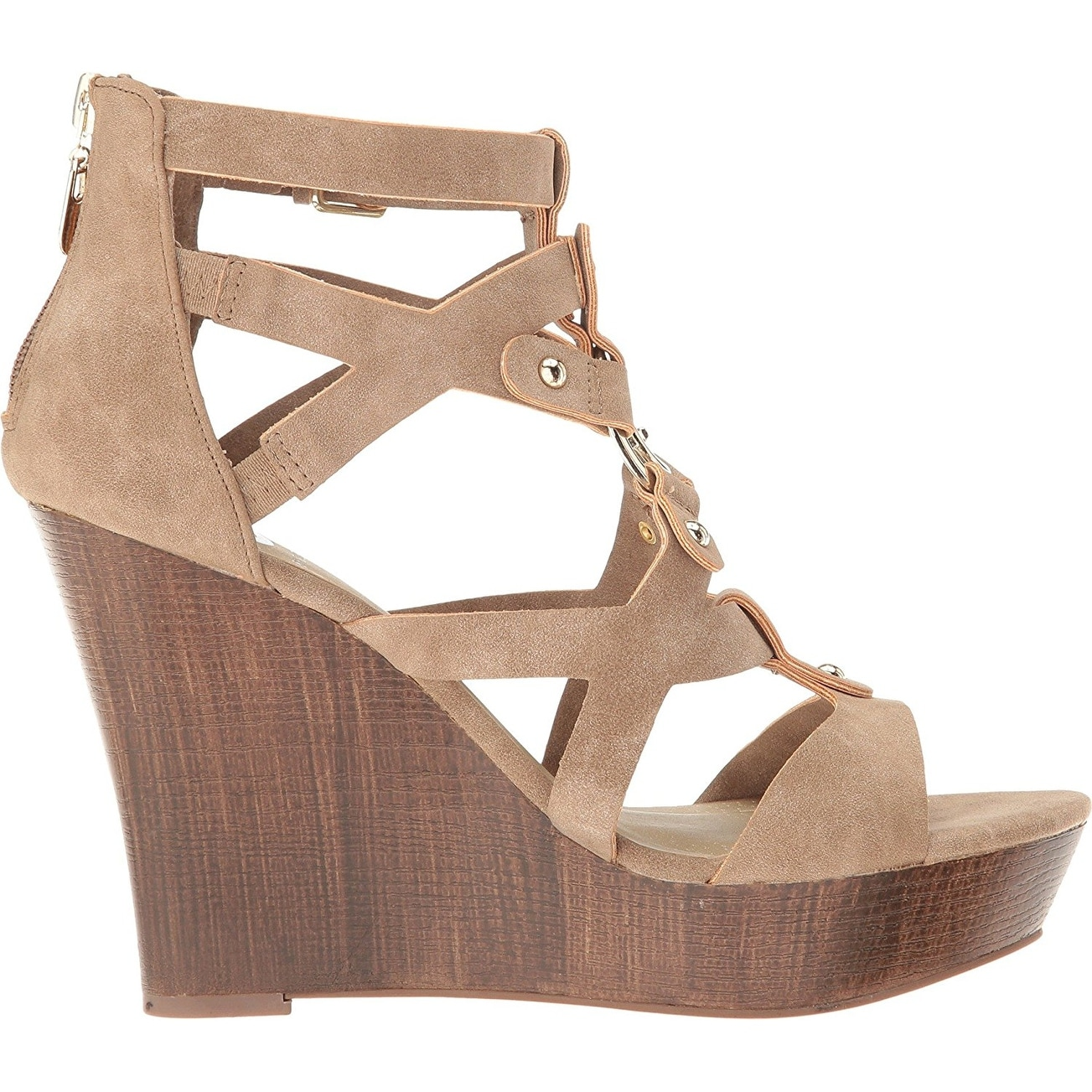 c929e04b76b Shop G by Guess Womens Dodge Open Toe Casual Platform Sandals - Free  Shipping On Orders Over  45 - Overstock - 17637059