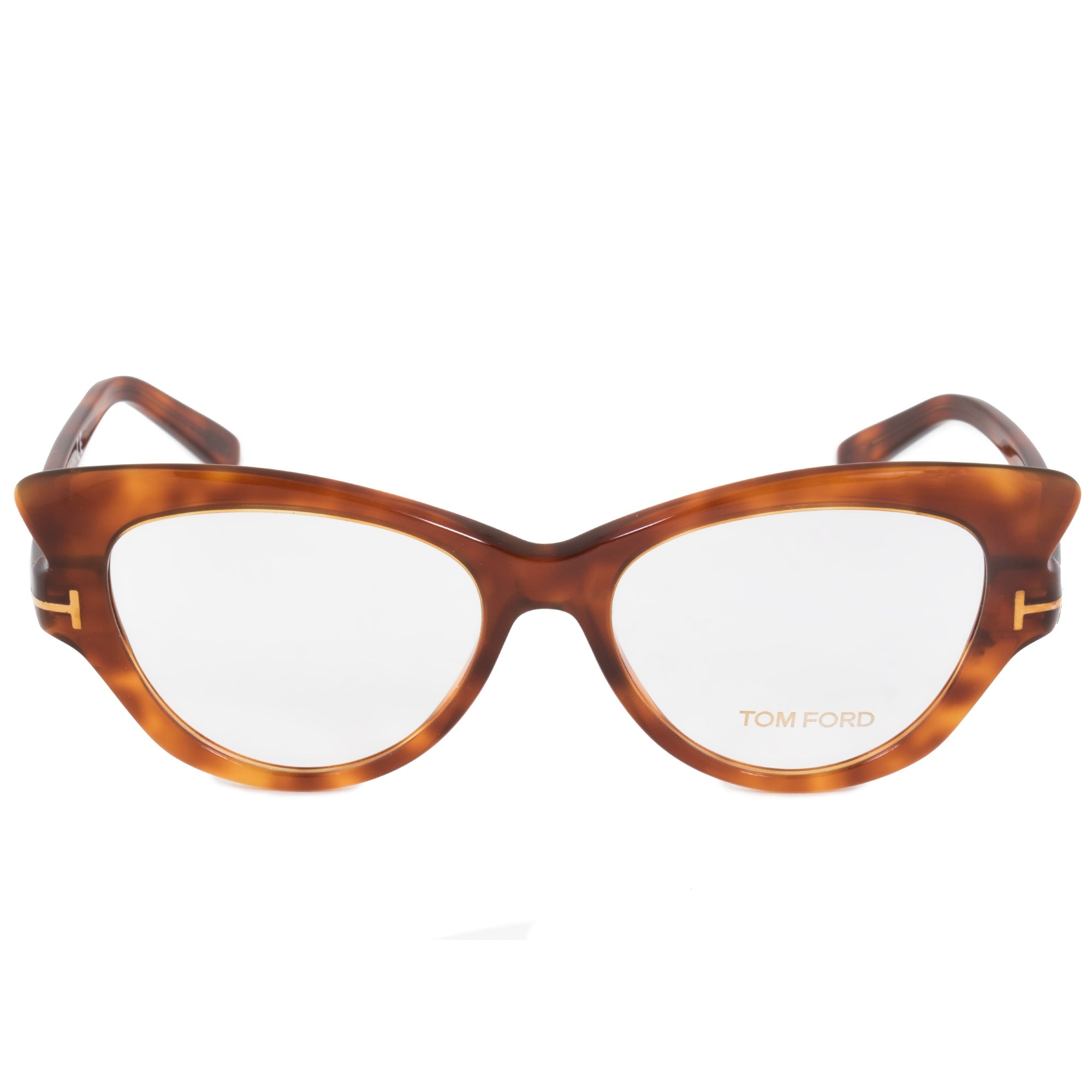 Shop Tom Ford FT5269 52 Cat Eye | Tortoise| Eyeglass Frames - Free ...