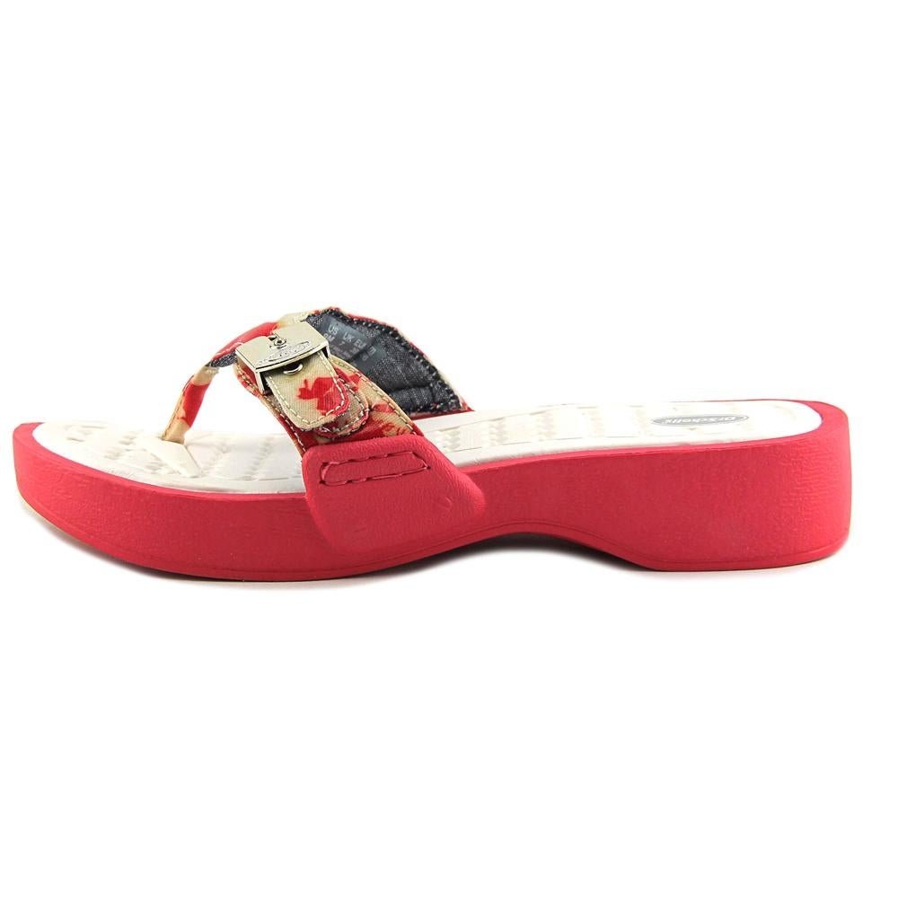fba9d605698 Shop Dr. Scholl s Roll Women Open Toe Synthetic Orange Thong Sandal - Free  Shipping On Orders Over  45 - Overstock - 19576095