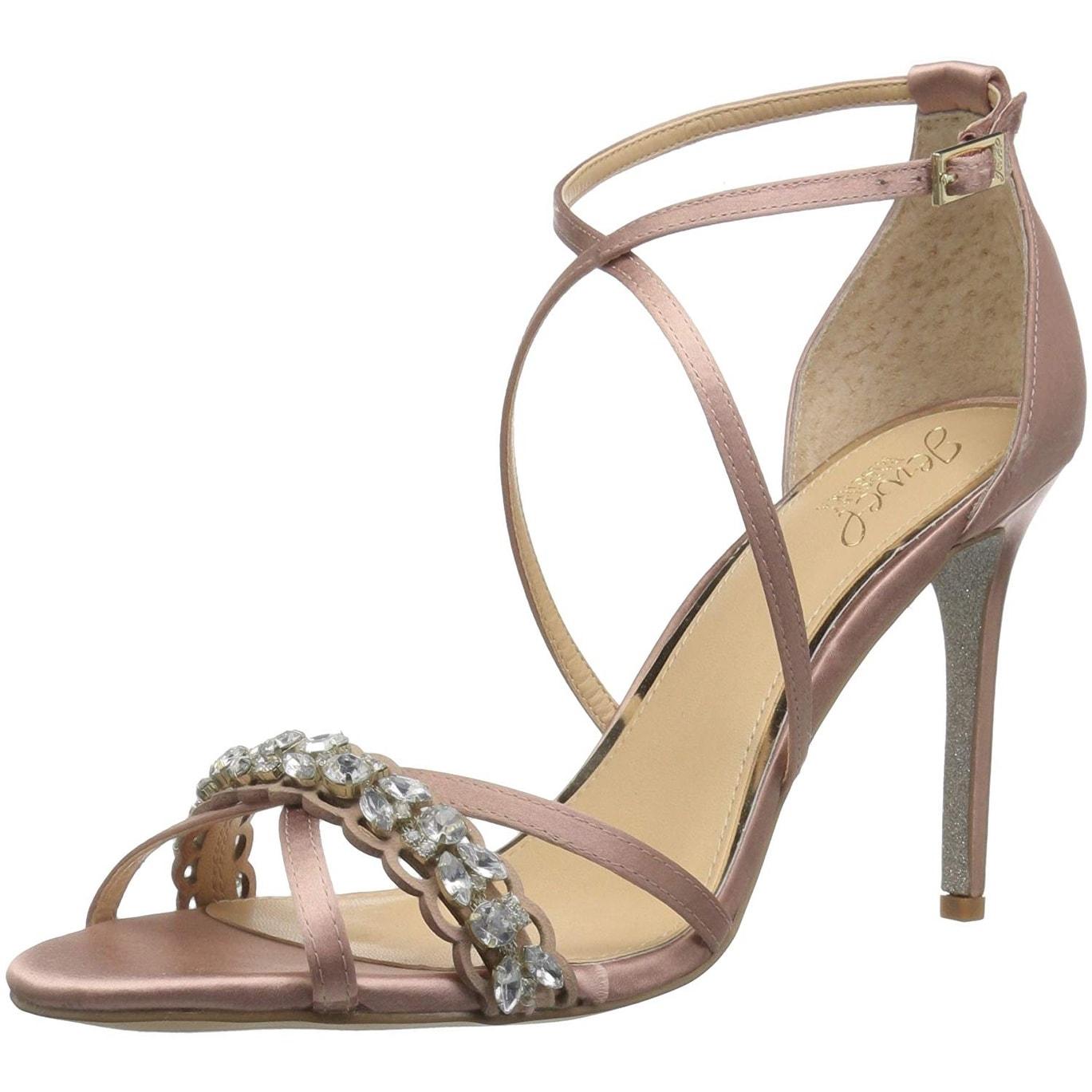 1a8f5c5d92bd Shop Badgley Mischka Women s Gisele Heeled Sandal - 10 - Free ...