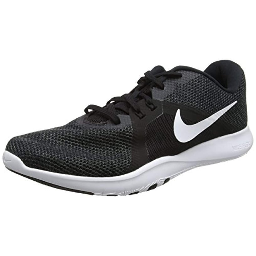 100% authentic 50331 e1a15 Shop Nike Women s Flex Trainer 8 Cross, Black White-Anthracite, 10 - Free  Shipping Today - Overstock - 25661580