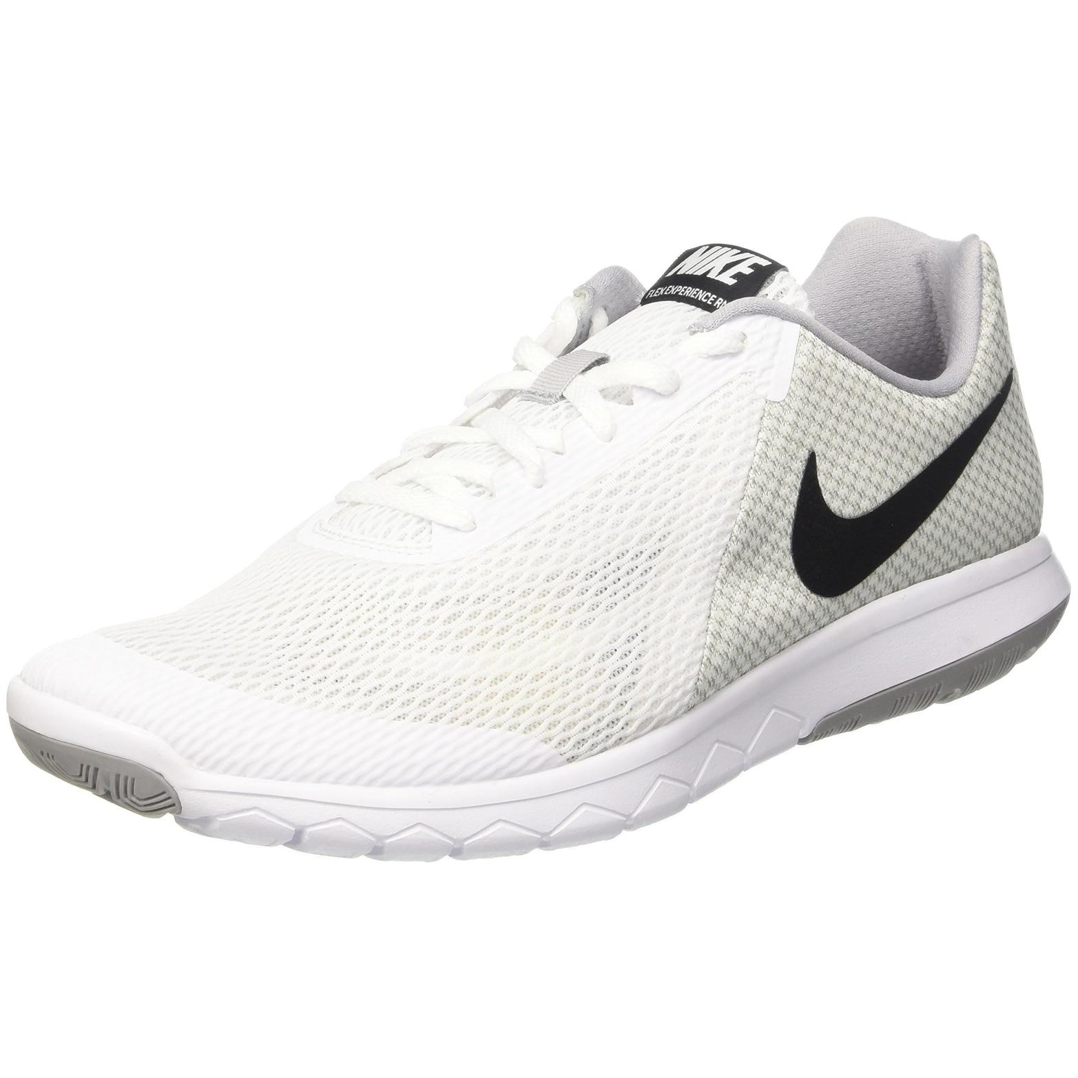 c03c698a4053b8 Men s Nike Flex Experience RN 6 Running Shoe White Black Wolf Grey - white  black wolf grey