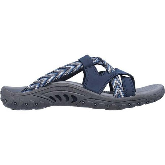 3c13d2dabd60 Shop Skechers Women s Reggae Soundstage Thong Sandal Navy - On Sale - Free  Shipping On Orders Over  45 - Overstock - 19754639