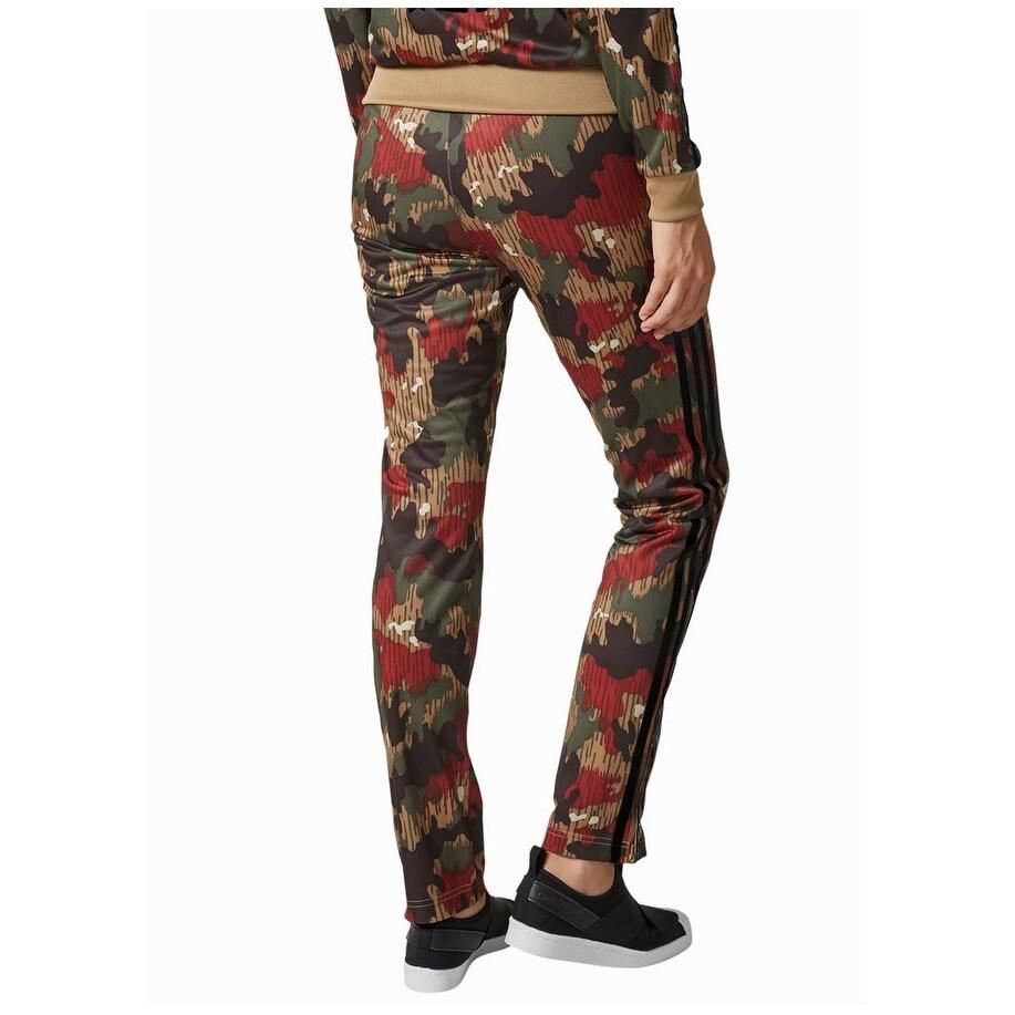 Adidas Women's Originals Pharrell Firebird Pants Camouflage Size X Small XS