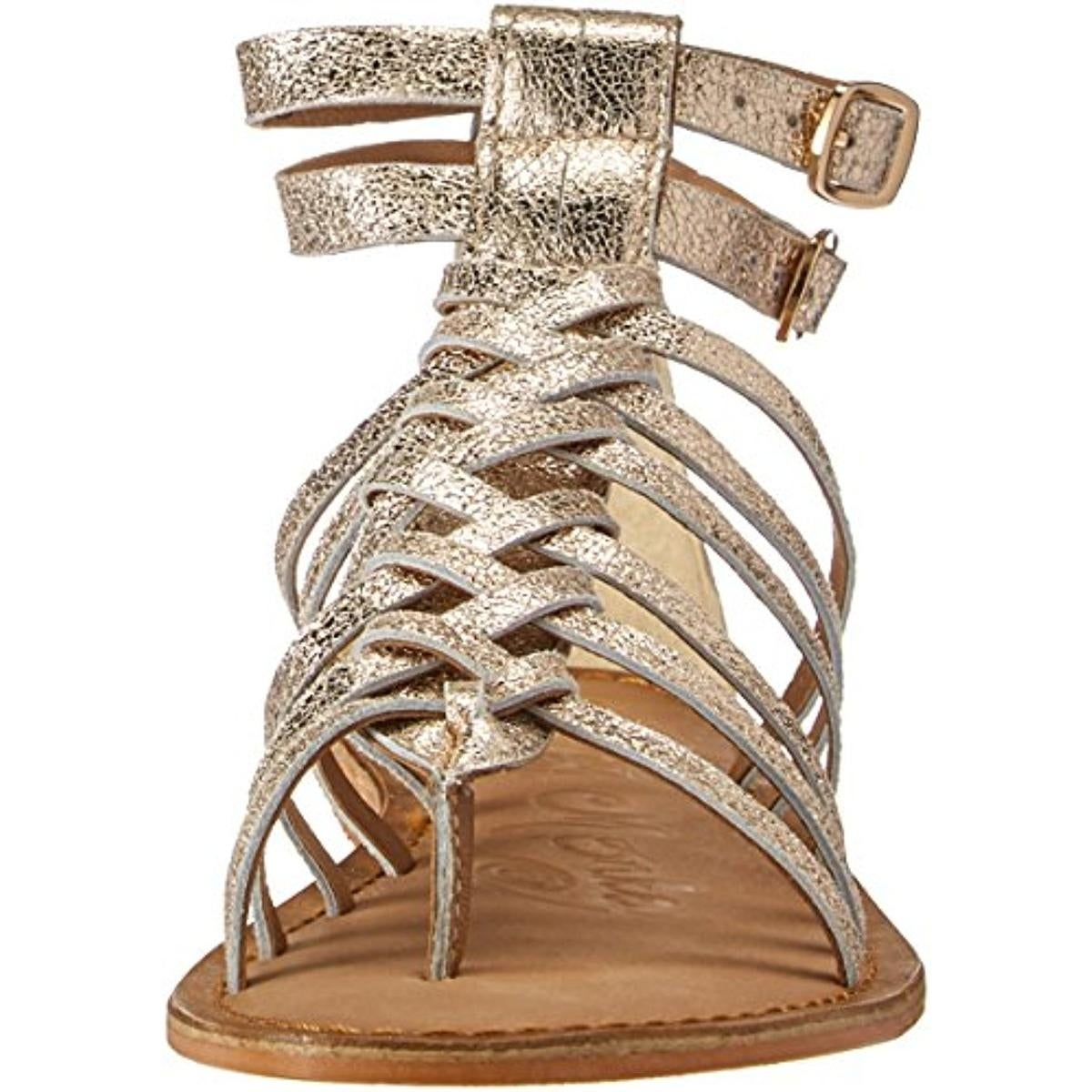 a9dc6dd4ff6 Shop Naughty Monkey Womens Boardwalk Gladiator Sandals Distressed Leather -  Free Shipping On Orders Over  45 - Overstock - 21108961