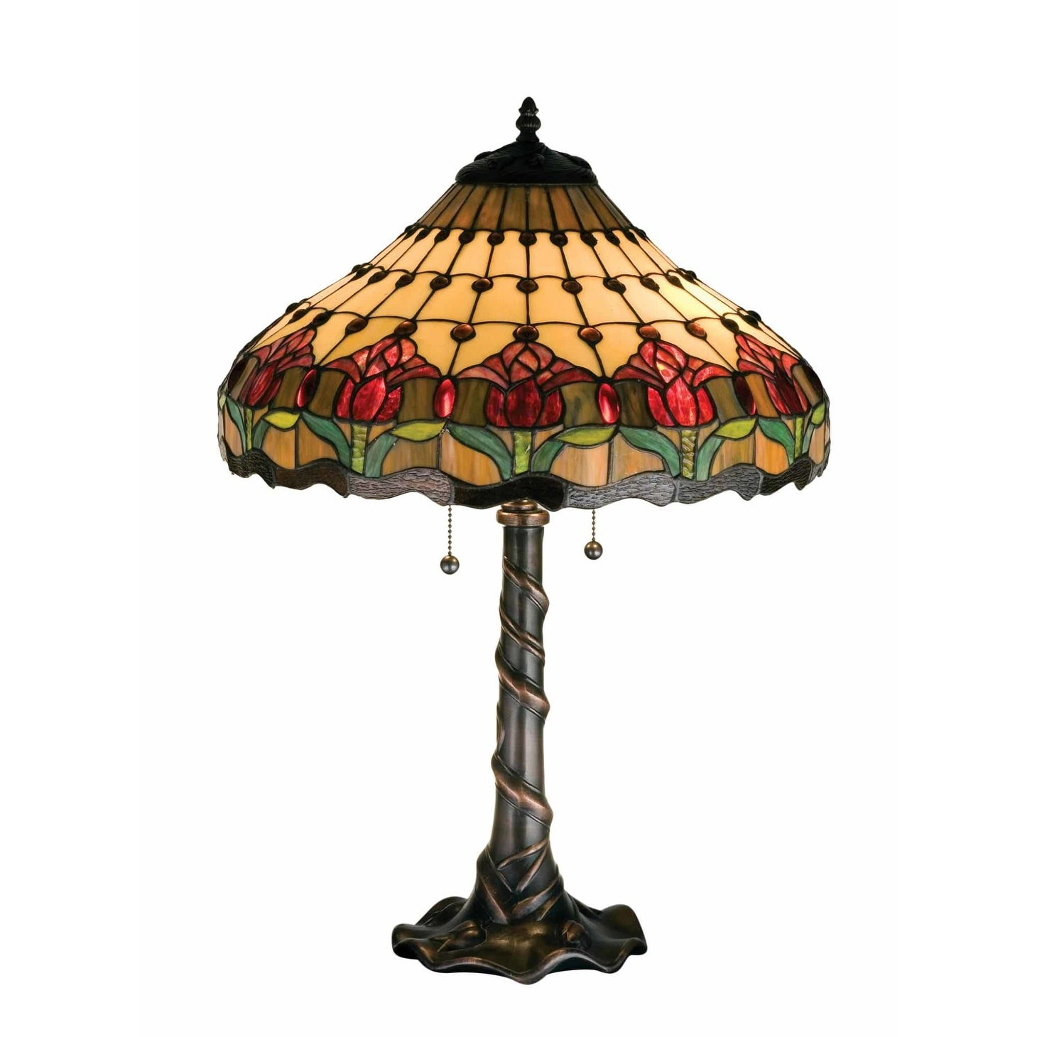 Shop Meyda Tiffany Stained Glass Tiffany Table Lamp from the