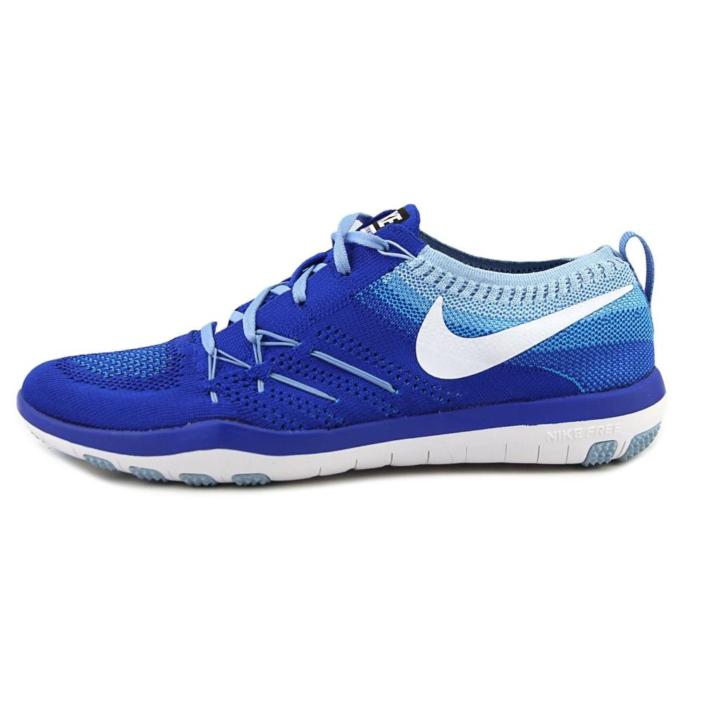 1544a9bf3eb15 Shop Nike Free Tr Focus Flyknit Women Round Toe Synthetic Blue Tennis Shoe  - Free Shipping Today - Overstock - 19214886