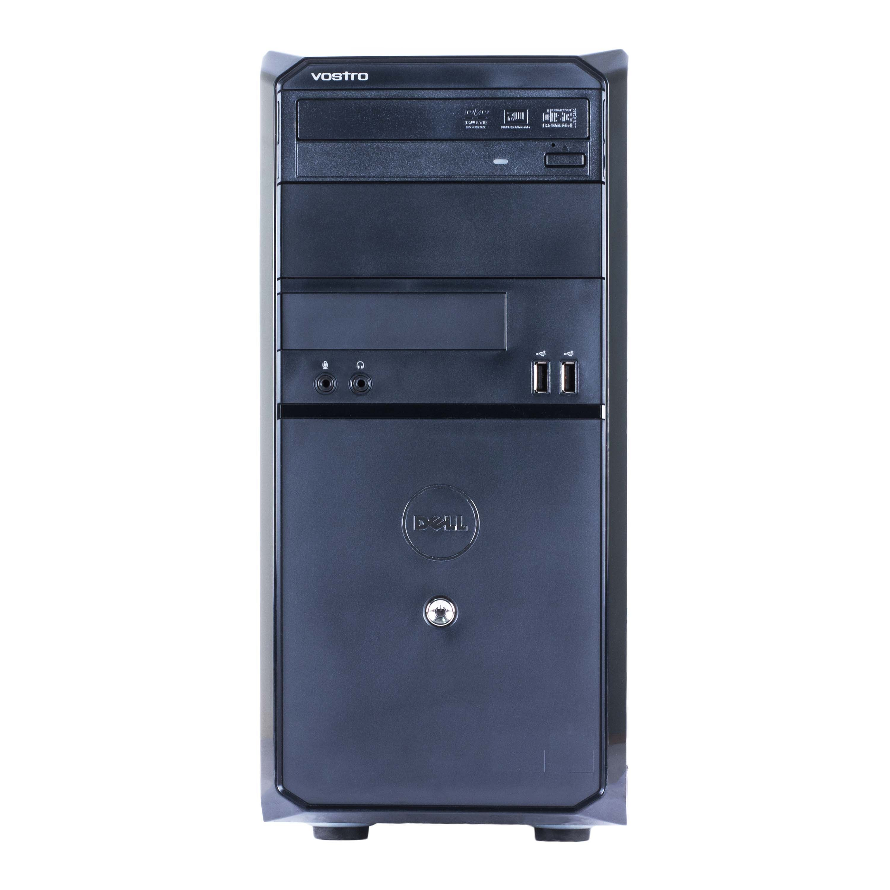Shop Dell Vostro 230 Computer Tower Intel Core 2 Duo E7500 293g 2gb Advance Speaker Portable Komputer 30 Ddr2 160g Windows 10 Home 1 Year Warranty Refurbished Black Free Shipping Today