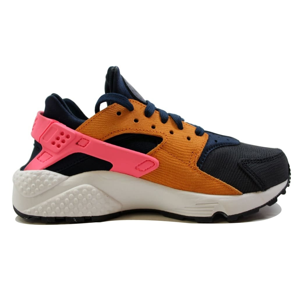 best website c07cf 85d91 Shop Nike Women s Air Huarache Run Premium Obsidian Black-Sunset-Digital  Pink 683818-401 - Free Shipping On Orders Over  45 - Overstock - 19509824