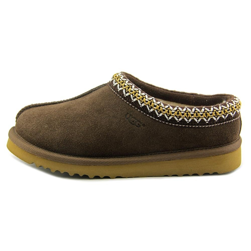 2deedfa5d23 Ugg Australia Tasman Women Round Toe Suede Brown Slipper